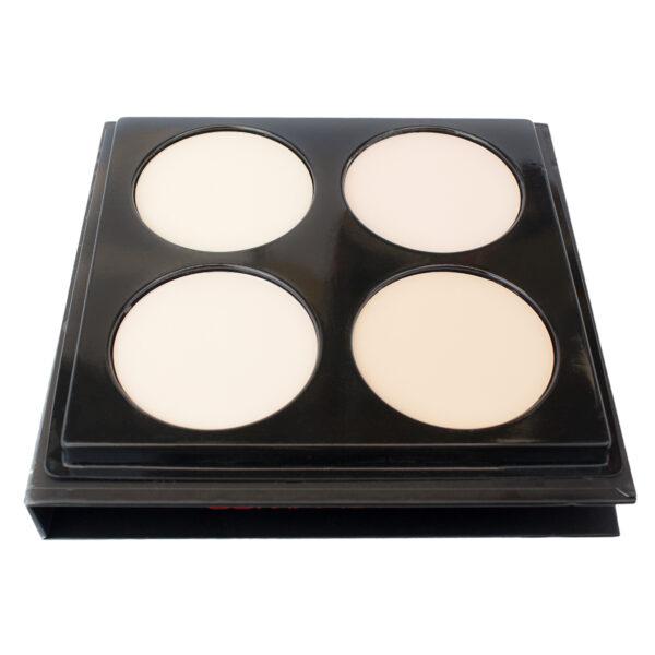 Compact powder palette